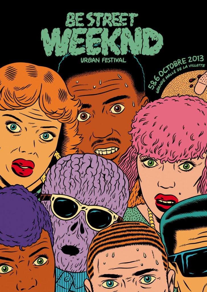 Be Street Weeknd 2013 flyer