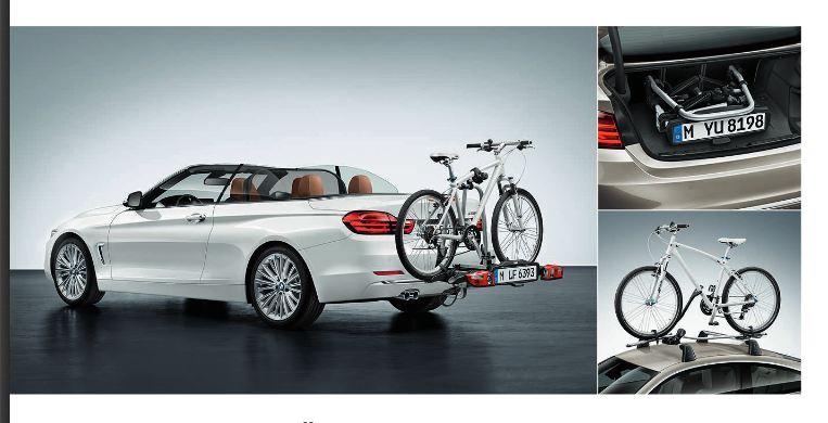 Porte-vélo BMW Serie 4 Cabriolet 2014
