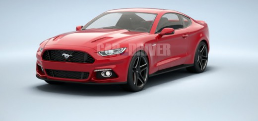 illustration de la Ford Mustang 2014