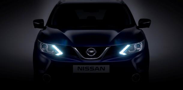 Teaser face avant Nissan Qashqai 2