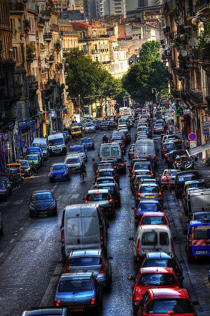 embouteillages marseille