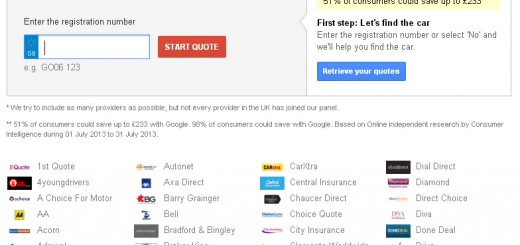 comparateur assurance auto google uk