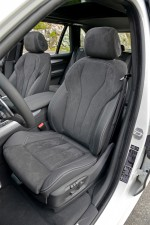 BMW X5 sieges avant interieur
