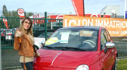 Nina chez VPN a testé la Fiat 500 1.2 Lounge 69CV