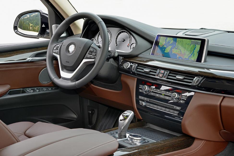 Tableau bord et volant nouveau bmw x5 blog auto for Interieur x5