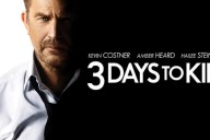 3 days to kill affiche