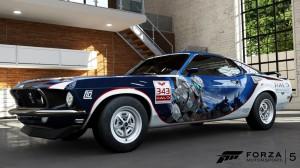 Ford Mustang Forza Motosport 5 halo