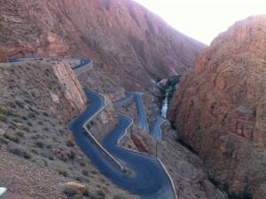Le col de Tichka au Maroc