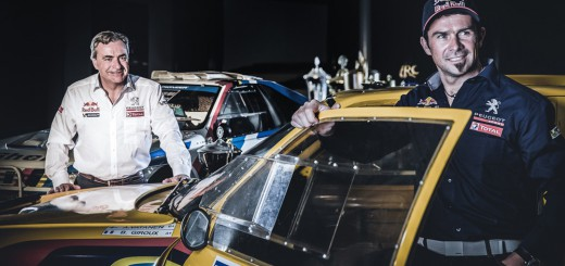 Peugeot Dakar 2015 Cyril Despres Carlos Sainz
