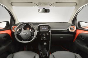 Toyota Aygo intérieur