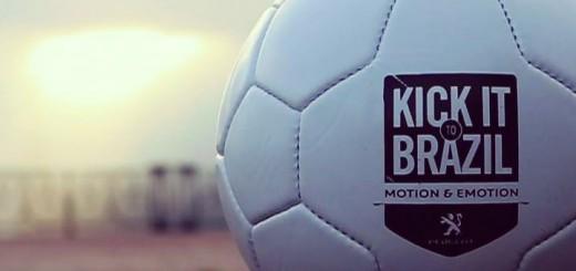 ballon kick it to brazil