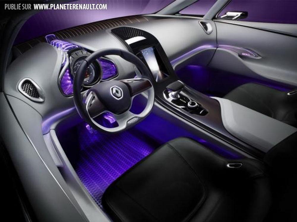 Nouveau monospace issue du concept car initiale le for Renault espace v interieur