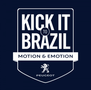 peugeot kick it to brazil