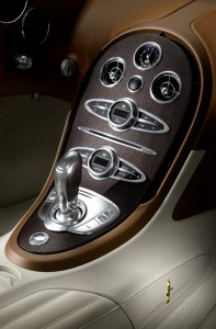 Bugatti Black Bess intérieur
