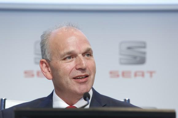 Jürgen Stackmann, Président SEAT S.A