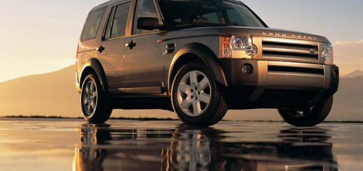 Land Rover Discovery capot transparent