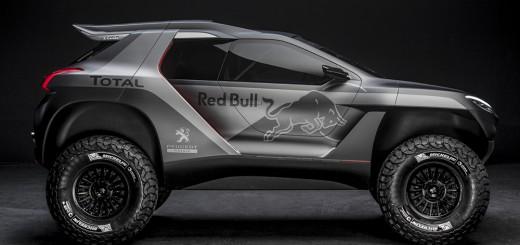 Peugeot 2008 DKR dakar 2015 profil