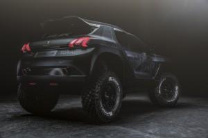 Peugeot 2008 DKR dakar 2015 vue arriere