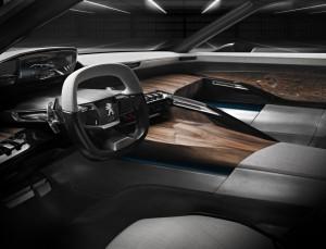 Peugeot Exalt intérieur