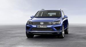 Volkswagen touareg 2014 face avant