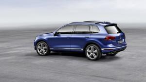 Volkswagen touareg 2014 profil