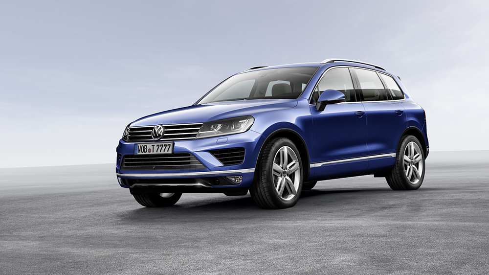 nouveau volkswagen touareg 2014 restyl pr sentation et photos. Black Bedroom Furniture Sets. Home Design Ideas