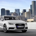 L?Audi A3 �lue Voiture mondiale de l?ann�e 2014, World Car of the Year 2014