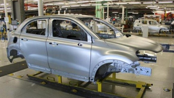 Fiat 500X usine production