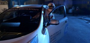 Nissan leaf course