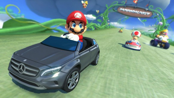Publicité Mercedes Mario Kart 8