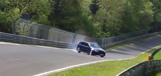 accident volkswagen golf gtl nurburgring