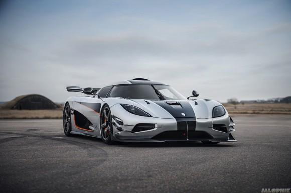avant piste Koenigsegg one