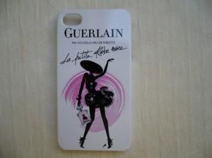 Meilleure idée cadeau : coque iphone Guerlain la petite robe noire