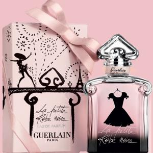 idées cadeaux fete des meres : eau parfum Guerlain la petite robe noire