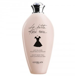 idées cadeaux fete des meres : lait hydratant la petite robe noire Guerlain
