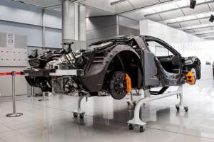 Châssis de la McLaren P1