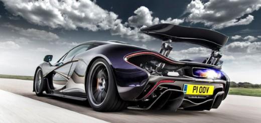 Une nouvelle McLaren P1 version piste en préparation
