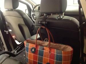 porte sac de voiture