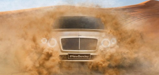première photo bentley SUV