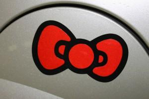 stickers voiture noeud