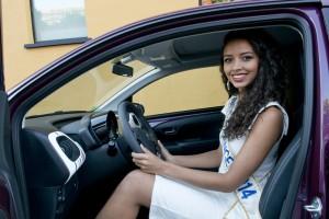 La Peugeot 108 avec Miss France
