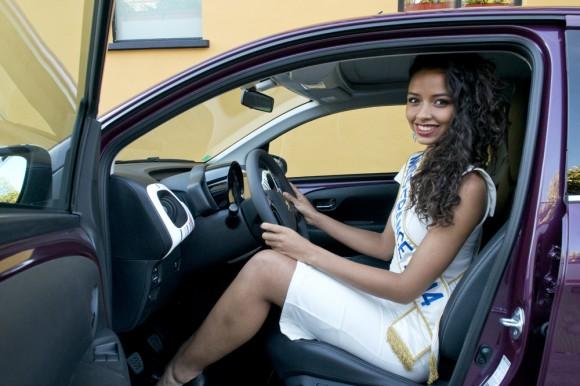 Miss France 2014 Peugeot 108
