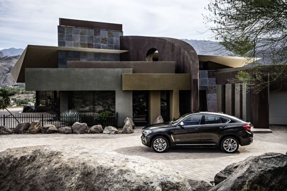 BMW shooting nouveau X6