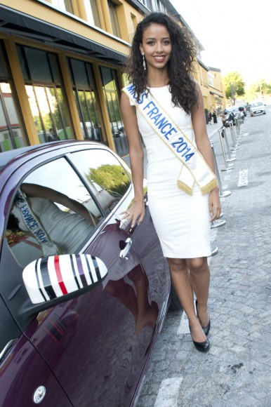 Miss France avec la 108 Red Purple