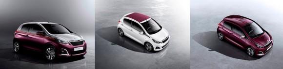 Peugeot 108 personnalisable 2014