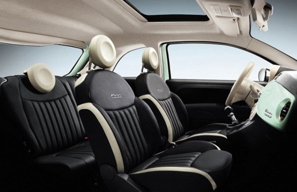 interieur Fiat 500 Club