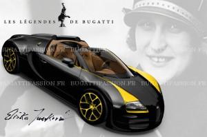 Bugatti Veyron Legends Elizabeth Junek