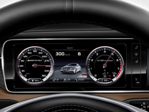 tableau bord Mercedes-Benz S 65 AMG Coupe 2014