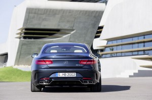 face arriere Mercedes-Benz S 65 AMG Coupe 2014