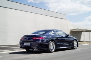 arriere Mercedes-Benz S 65 AMG Coupe 2014